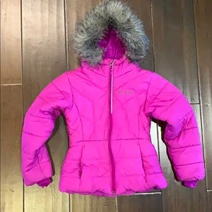 Columbia Girls Katelyn Puffer Jacket XS